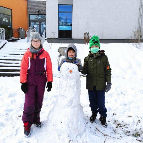 2021-01-20 Zabawy na śniegu
